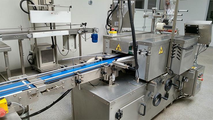 maszyna w fabryce